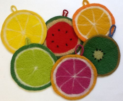 Pot Holders FRUIT
